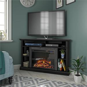 ameriwood-home-corner-brick-fireplace-designs